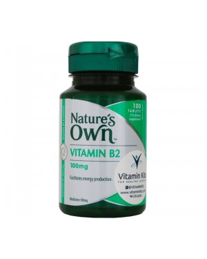 Nature's Own Vitamin B2 100mg (100 Tab)