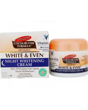 Palmers Cocoa Butter Formula White & Even Night Whitening Cream (78g)