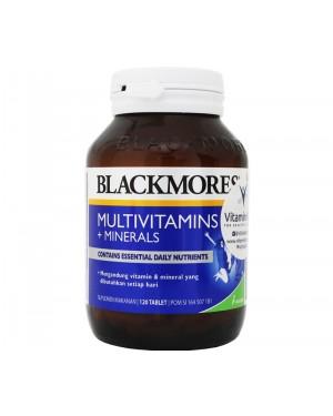 BLACKMORES MULTIVITAMINS + MINERALS BPOM KALBE- 120 TAB