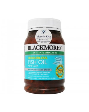 Blackmores Odourless Fish Oil Mini Caps (400 Caps)