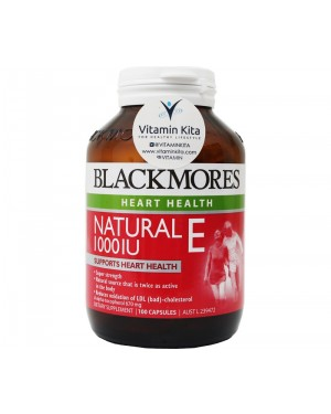 Blackmores Natural E 100IU (100 Caps)