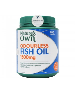 Nature's Own - Odourless Fish Oil 1500mg (200 Caps)