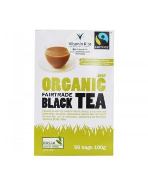 Fairtrade Organic Black Tea 50 Bags (100g)