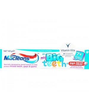 Macleans My Big Teeth 7+ Years (63gr)
