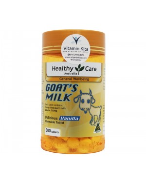 Healthy  Care Goat's Milk Delicious Vanilla Chew Tab (300Tab)