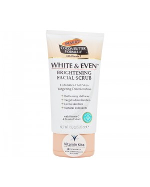 Palmers Cocoa Butter Formula White & Even Brightening Facial Scrub (150g)