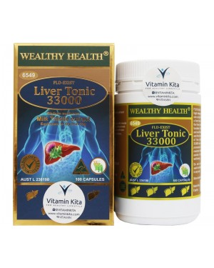 Wealthy Health Liver Tonic 33000 (100Cap)