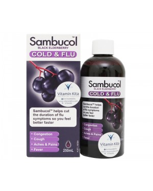 Sambucol Cold & Flu Syrup (250mL)