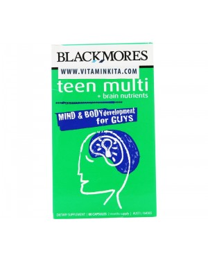 Blackmores Teen Multi for Guys (60 Caps)