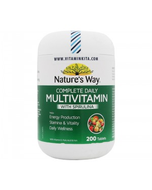 Natures Way Complete Daily Multivitamin (200 Tab)