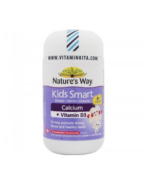 Nature's Way Kids Calcium + VITAMIN D3 (50 Cap)