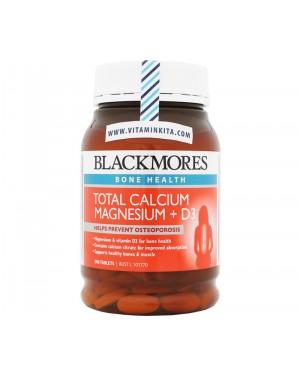 Blackmores Total Calcium Magnesium + D3 (200 Tab)