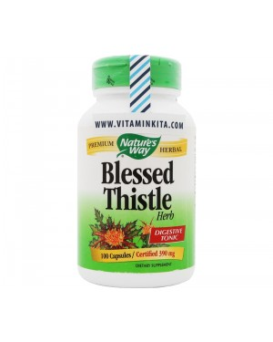 Natures Way - Blessed Thistle (100 Cap)