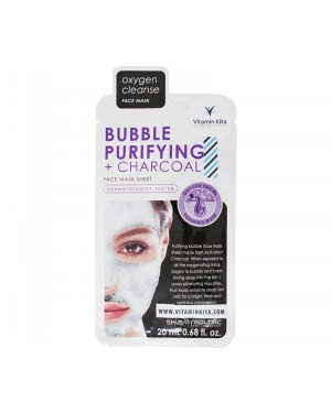 Skin Republic Bubble Purifying + Charcoal Face Mask Sheet (20 ml)