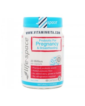 Life Space Probotic For Pregnancy & Breastfeeding 23 Billion (60 Cap)