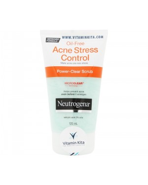 Neutrogena Oil Free Acne Stress Control (125 ml)