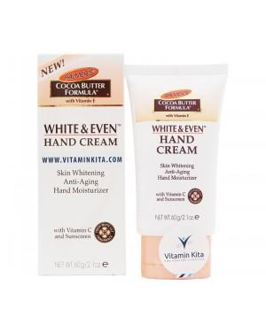 Palmers Cocoa Butter Formula W/ Vitamin E, White & Even Hand Cream (60 gr)