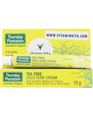 Thursday Plantation Tea Tree Cold Sore Cream (10 gr)