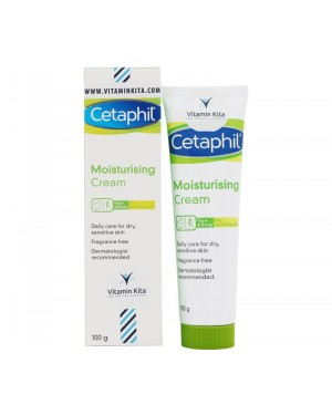 Cetaphil Moisturising Cream Dry To Very Dry Skin For Sensitive Skin (100 g)