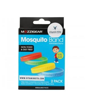 Mozzigear Mosquito Band Kids - Gelang Anti Nyamuk Anak Organik(2 Pack)