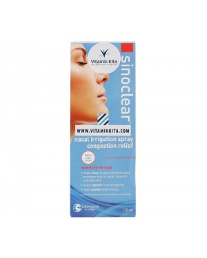 Sinoclear Nasal & Sinus Congestion Relief (135 ml)
