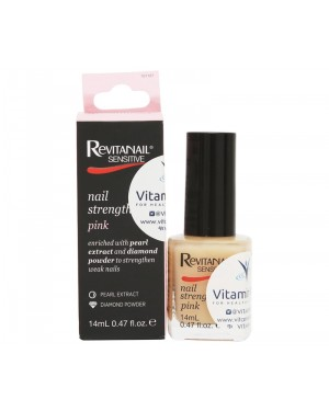 Revitanail Nail Strengthener Sensitive Pink (14mL)