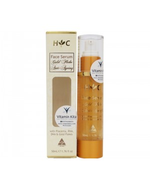 H & C Face Serum - Gold Flake Anti-Ageing (50ml)