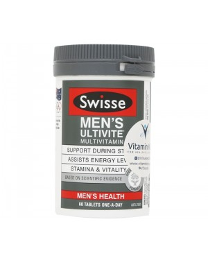 Swisse - Men's Ultivite Multivitamin (60 Tabs)