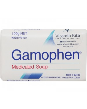 Gamophen Antibacterial Medicated Soap (100g)