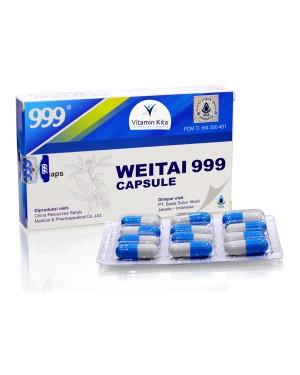 999 WEITAI CAPSULE 12 CAPS OBAT MAAG, NYERI LAMBUNG, KEMBUNG SSA