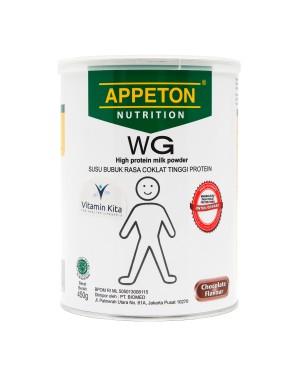 APPETON WEIGHT GAIN SUSU UNTUK GEMUK RASA COKLAT 450 Gr