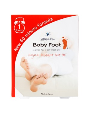 Baby Foot Original Exfoliant Foot Peel-2 Socks