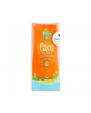 Beach Hut Face Sunblock SPF 65 BPOM - 75 ML Sunblock Wajah Anak Dan Dewasa