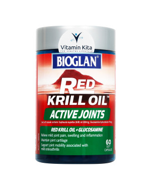 Bioglan Red Krill Oil Active Joints (60 Soft Capsules)