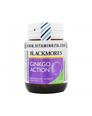BLACKMORES GINKGO ACTION BPOM KALBE - 40 TAB