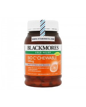 Blackmores Bio C Chewable 500mg (200 tab)