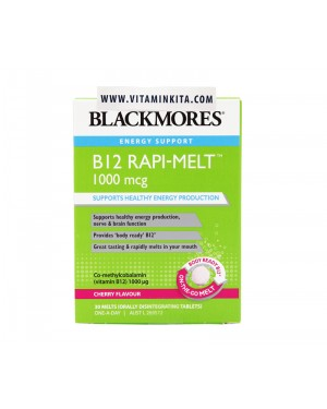 Blackmores Energy Support B12 Melt 1000mg - 30 Tab