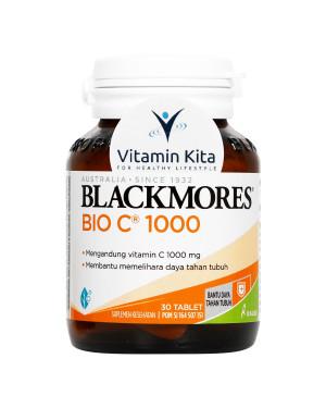 BLACKMORES BIO C 1000MG BPOM KALBE - 30 TAB