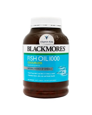 BLACKMORES ODOURLESS FISH OIL 1000 (400 CAPS)