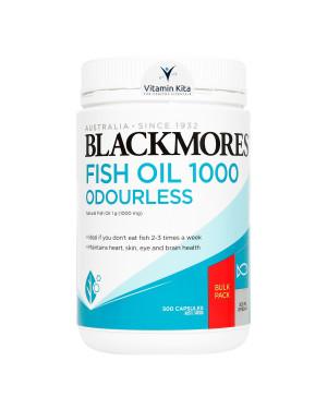 BLACKMORES ODOURLESS FISH OIL 1000 (500 CAPS)