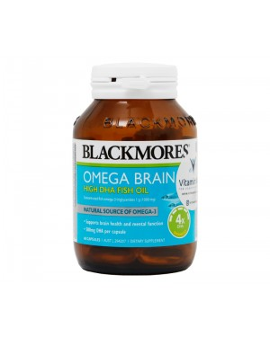 Blackmores Omega Brain Concentrated Fish Oil (60 Cap)