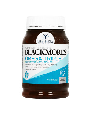 BLACKMORES OMEGA CONCENTRATED TRIPLE FISH OIL (150 CAPS)