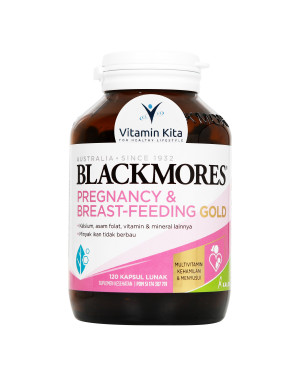 BLACKMORES PREGNANCY AND BREASTFEEDING GOLD BPOM KALBE - 120 CAPS