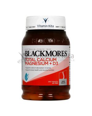 Blackmores Total Calcium Magnesium   D3 (200 Tab)