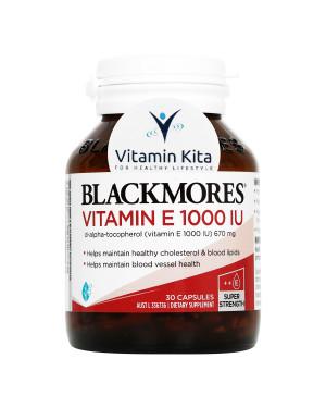 Blackmores Vitamin E 1000IU (30 Caps)