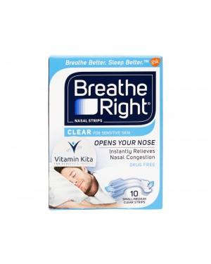 Breathe Right Nasal Strips - 10 Strips