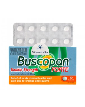 Buscopan Double Strength Forte 10tab