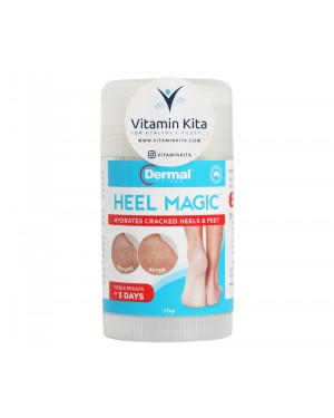 Dermal Therapy Heel Magic Hydrates Cracked Heel And Feet - 70gr