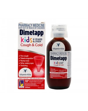 Dimetapp Kids Cough And Cold 6 Years -200 ml