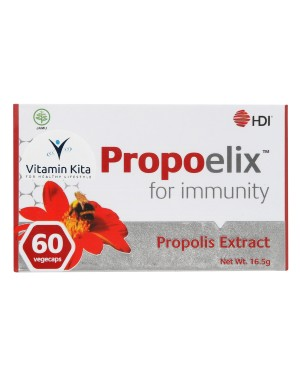HDI PROPOELIX WITH PROPOLIS EXTRACT FOR IMMUNITY 60 VEGECAPS